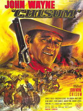Chisum - 27 x 40 Movie Poster - French Style A
