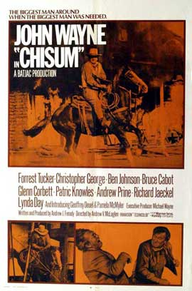 Chisum - 11 x 17 Movie Poster - Style D