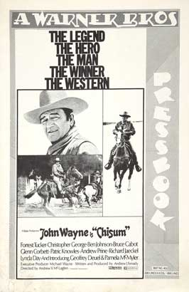 Chisum - 11 x 17 Movie Poster - Style H