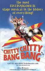 Chitty Chitty Bang Bang (Broadway) - 11 x 17 Poster - Style A