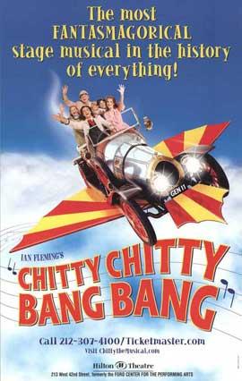 Chitty Chitty Bang Bang (Broadway) - 27 x 40 Poster - Style A