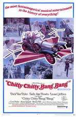 Chitty Chitty Bang Bang - 11 x 17 Movie Poster - Style C