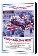 Chitty Chitty Bang Bang - 11 x 17 Movie Poster - Style C - Museum Wrapped Canvas