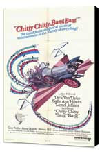 Chitty Chitty Bang Bang - 27 x 40 Movie Poster - Style B - Museum Wrapped Canvas
