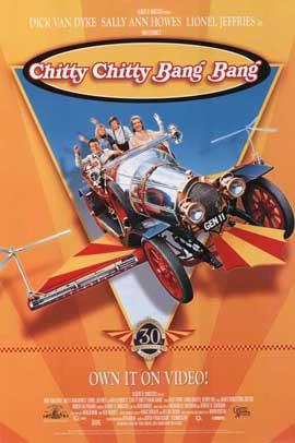 Chitty Chitty Bang Bang - 11 x 17 Movie Poster - Style A