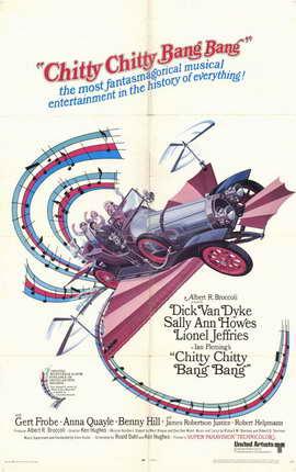 Chitty Chitty Bang Bang - 11 x 17 Movie Poster - Style B