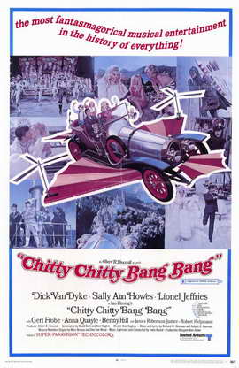 Chitty Chitty Bang Bang - 11 x 17 Movie Poster - Style C