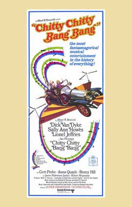 Chitty Chitty Bang Bang - 11 x 17 Movie Poster - Style D