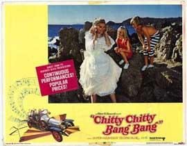 Chitty Chitty Bang Bang - 11 x 14 Movie Poster - Style B