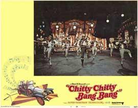 Chitty Chitty Bang Bang - 11 x 14 Movie Poster - Style F