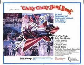 Chitty Chitty Bang Bang - 11 x 14 Movie Poster - Style A