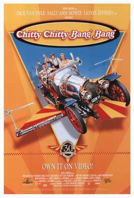 Chitty Chitty Bang Bang - 27 x 40 Movie Poster - Style A