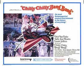 Chitty Chitty Bang Bang - 22 x 28 Movie Poster - Half Sheet Style A