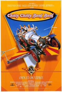 Chitty Chitty Bang Bang - 43 x 62 Movie Poster - Bus Shelter Style A