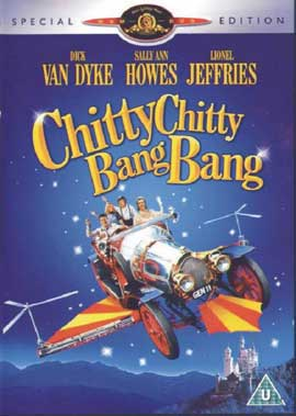 Chitty Chitty Bang Bang - 11 x 17 Movie Poster - Style E