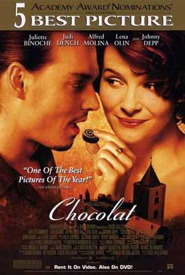 Chocolat - 27 x 40 Movie Poster - Style B