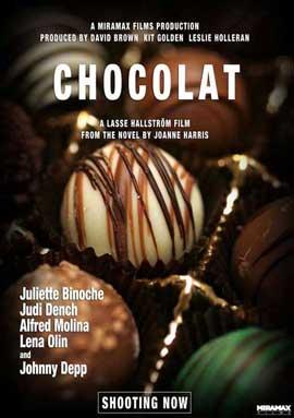 Chocolat - 11 x 17 Movie Poster - Style D
