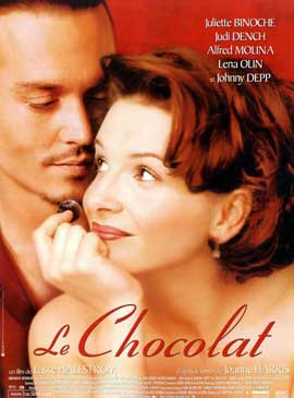 Chocolat - 27 x 40 Movie Poster - French Style A