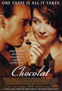 Chocolat - 11 x 17 Movie Poster - Style A - Museum Wrapped Canvas
