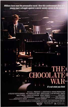 The Chocolate War - 11 x 17 Movie Poster - Style A