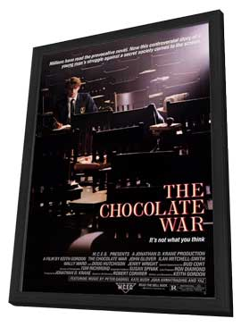The Chocolate War - 11 x 17 Movie Poster - Style A - in Deluxe Wood Frame