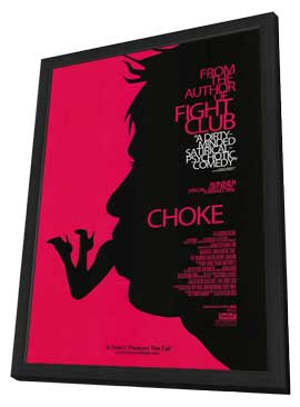 Choke - 27 x 40 Movie Poster - Style A - in Deluxe Wood Frame