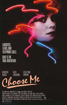 Choose Me - 11 x 17 Movie Poster - Style A