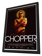 Chopper - 27 x 40 Movie Poster - Style A - in Deluxe Wood Frame