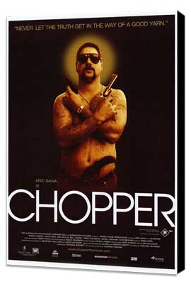 Chopper - 27 x 40 Movie Poster - Style A - Museum Wrapped Canvas