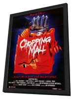 Chopping Mall - 11 x 17 Movie Poster - Style B - in Deluxe Wood Frame
