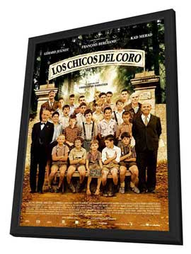 Chorists - 27 x 40 Movie Poster - Spanish Style A - in Deluxe Wood Frame