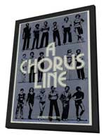 Chorus Line, A (Broadway) - 27 x 40 Movie Poster - Style A - in Deluxe Wood Frame