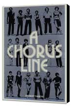 Chorus Line, A (Broadway) - 27 x 40 Movie Poster - Style A - Museum Wrapped Canvas
