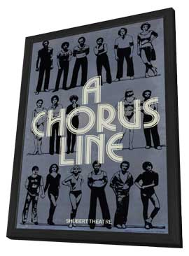 Chorus Line, A (Broadway) - 11 x 17 Poster - Style A - in Deluxe Wood Frame