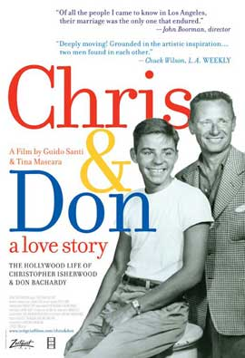 Chris and Don. A Love Story - 11 x 17 Movie Poster - Style A
