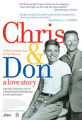 Chris and Don. A Love Story - 27 x 40 Movie Poster - Style A