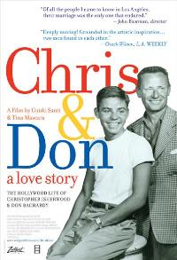 Chris and Don. A Love Story - 43 x 62 Movie Poster - Bus Shelter Style A