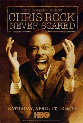 Chris Rock: Never Scared - 27 x 40 Movie Poster - Style A