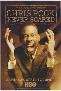 Chris Rock: Never Scared - 11 x 17 Movie Poster - Style A