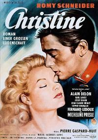 Christine - 11 x 17 Movie Poster - German Style A