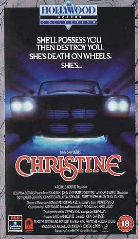 Christine - 11 x 17 Movie Poster - UK Style B