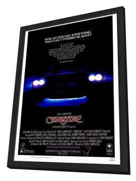 Christine - 27 x 40 Movie Poster - Style A - in Deluxe Wood Frame
