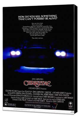 Christine - 11 x 17 Movie Poster - Style A - Museum Wrapped Canvas