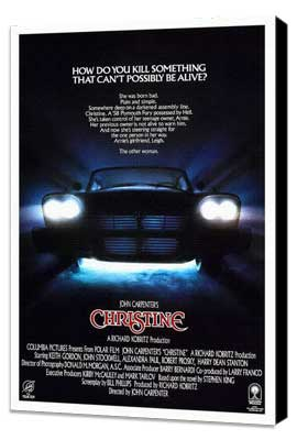 Christine - 11 x 17 Movie Poster - Style C - Museum Wrapped Canvas