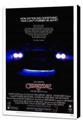Christine - 27 x 40 Movie Poster - Style A - Museum Wrapped Canvas