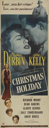 Christmas Holiday - 14 x 36 Movie Poster - Insert Style A