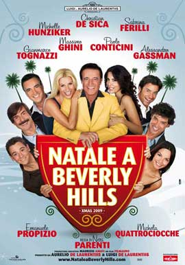 Christmas in Beverly Hills - 27 x 40 Movie Poster - Italian Style A