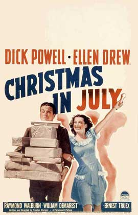 Christmas in July - 11 x 17 Movie Poster - Style B
