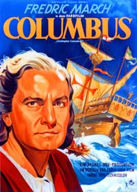 Christopher Columbus - 11 x 17 Movie Poster - German Style A