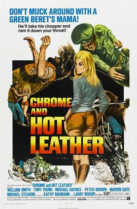 Chrome and Hot Leather - 11 x 17 Movie Poster - Style A